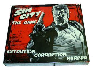 Sin City Frank Miller Comic Book Movie Board Game