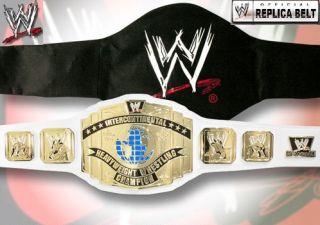 WWE Intercontinental Championship White Adult Size Replica Belt