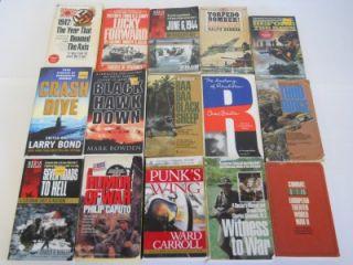Lot of 78 Military Non Fiction War Paperback Books World War II Navy
