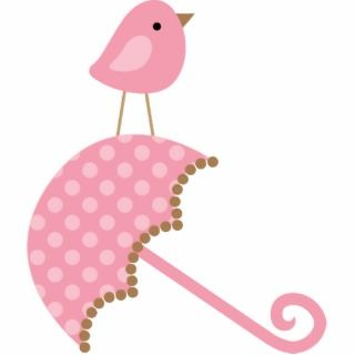 Sweet Bird Baby Shower Cake Topper Acrylic Cut Outs