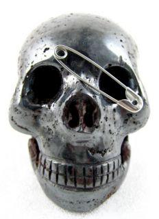 Magnetite Hematite Lodestone Stone Crystal Skull Magnet