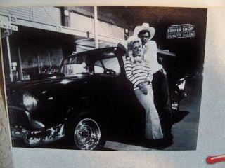 PAUL LEMAT Signed American Graffiti Poster   Deuce Coupe Paradise Road