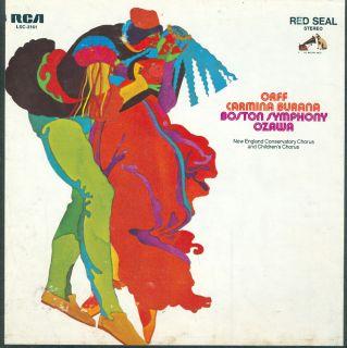 Reel to Reel Tape RCA Orff Carmina Burana Seija Ozawa 7½