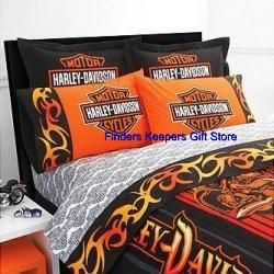 Harley Davidson Twin Sheet Set Bedding Home Comforter