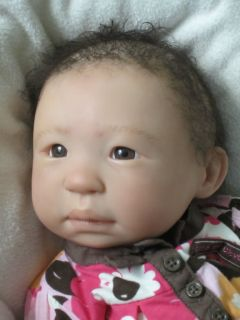 Stunning Asian Reborn Baby Girl Ming Na by Cathy Rowland..MUST SEE!!!!