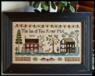 Needleworks The Inn at Fox River Mill Cross Stitch Pattern
