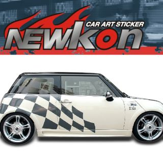 Vinyl Auto Body Graphics Sticker Decal BMW Mini Cooper