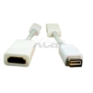 New Mini DVI to HDMI Female Adapter Cable White 5 Length C132 Brand