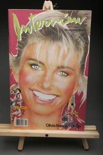 Andy Warhols Interview Magazine Lot 8 1981 1983 Matt Dillon Richard