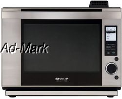 Sharp Supersteam Countertop Microwave Steam Convection Oven AX1200S