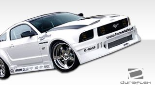 2005 2009 Ford Mustang Duraflex Hot Wheels Widebody Side Skirts Body