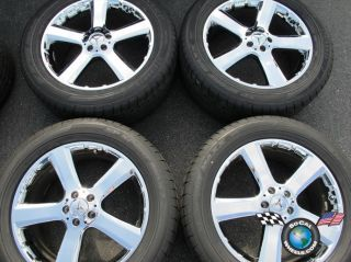 four 2009 Mercedes MBZ GL350 ML R Factory 20 Chrome Wheels Tires Rims