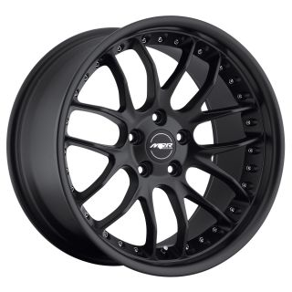 MRR GT7 MATTE BLACK Wheels Rims Fit MERCEDES CLK W208 W209 (1996 2009