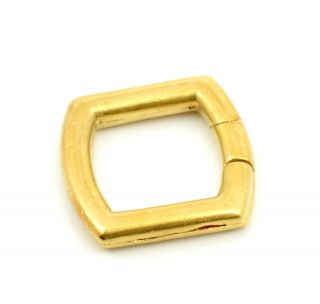 Cartier Vintage 18K Solid Gold Key Ring Chain