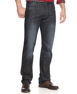 Buffalo David Bitton Jeans, Six Slim Straight Jeans   Mens Jeans