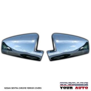 Nissan Sentra Chrome Mirror Covers 2007 2011