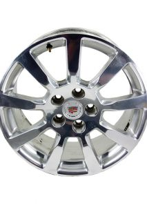 18 Factory Polished 2008 2009 Cadillac cts Wheels 4267 9597873