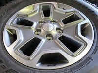 Five 2013 Jeep Wrangler Rubicon Factory 17 Wheels Tires Rims Sahara