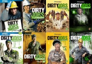 Dirty Jobs Collections 1 8 New 17 DVD 1 2 3 4 5 6 7 8 Mike Rowe