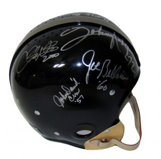14 Heisman Winners Signed Autographed F s RK Proline Helmet Mint