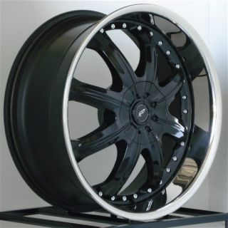 20 inch Black Wheels Rims Dodge Dakota Durango Nissan Pathfinder