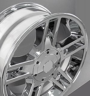 20 Chrome F 150 Harley Wheels Set 4 Rims Fit Ford Expedition Lincoln