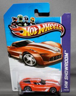 Hot Wheels 2013 HW Showroom 2009 Corvette Stingray Concept