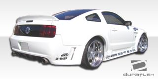2005 2009 Ford Mustang Hot Wheels Widebody Rear Bumper