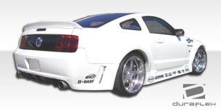 2005 2009 Ford Mustang Hot Wheels Widebody Rear Bumper