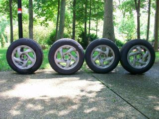 Set 91 96 Dodge Stealth Mitsubishi 3000gt 16 Factory Rims Wheels