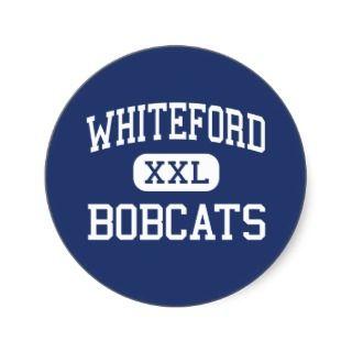 Whiteford   Bobcats   High   Ottawa Lake Michigan Stickers
