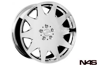 S400 S550 S600 MRR HR3 Concave VIP Chrome Staggered Wheels Rims