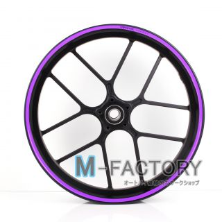 Purple Rim Sticker Decal Wheel 17 Yamaha FZ1 Fazer FZ6 N s 1000 800