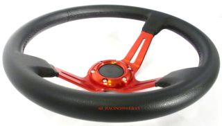 This auction is for A brand new 350mm Drifting Steering wheels in Red