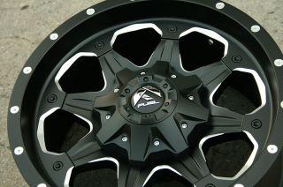 Fuel Boost D534 18 Black Rims Wheels Express G3500 97 Up 18 x 9 0 8H