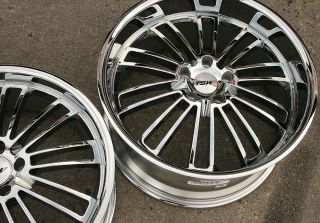 TSW Nardo 19 Chrome Rims Wheels BMW E39 E60 5 Series 19 x 8 0 9 5 5H