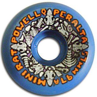 Powell Peralta Mini Rats Skateboard Wheels 57mm 97A Blue