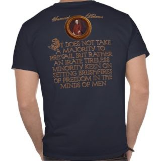 Samuel Adams and the Boston Tea Party Tee Shirt