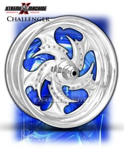 Machine Challenger Chrome Motorcycle Wheels Street Road Glide Touring