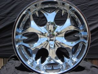 22 inch B3 Chrome Wheels Rim Dodge Charger Magnum 5x115