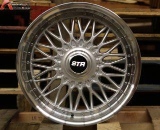 Style 4x114 3 Silver Wheel Fit Nissan 240Z 240sx s13 s14 Rims
