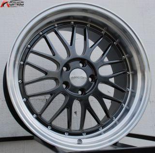 20x10 20x11 5x114 3 15 Hyper Black Wheels Fit Infiniti G35 G37