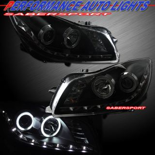 11 12 BUICK REGAL CCFL HALO PROJECTOR HEADLIGHTS w/ R8 STYLE LED