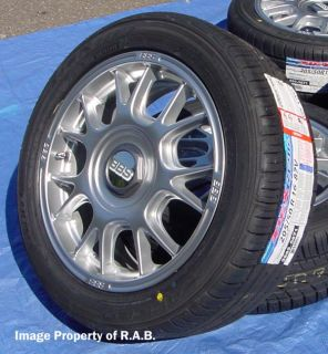 16 BBs Wheels Tires Honda Civic Fit Kia Rio Mirage