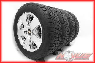 Silverado Tahoe LTZ GMC Yukon Sierra Chrome Wheels Tires 22 GM