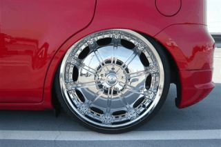INCH RIMS AND TIRES WHEELS ROCKSTARR 557 CHROME BLACK FORD EDGE 24 28