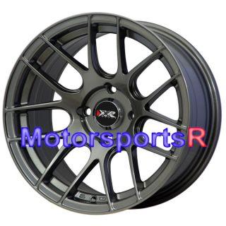 Gun Metal Concave Rims Wheels Stance 4x114 3 94 Honda Accord EX