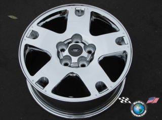 01 07 Ford Escape Factory 16 Chrome Wheels OEM Rims 3459 Outright Sale