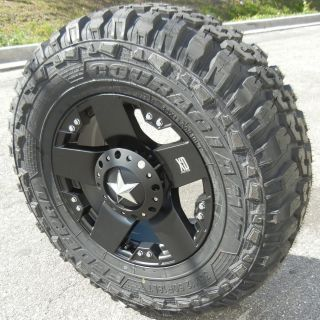 18 Black XD Rockstar 35x1250x18 Federal M T Chevy GMC Dodge RAM 2500