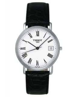 Emporio Armani Watch, Mens Black Leather Strap AR2020   All Watches